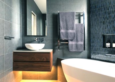 Kithe Walnut Bathroom Vanity 1