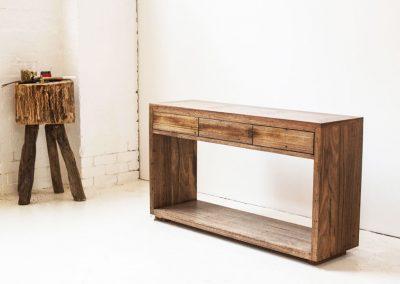 Kithe Dark hardwood sideboard