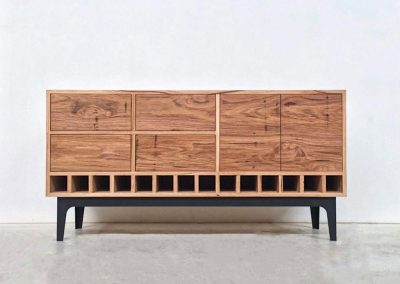 Kithe Wormy Chestnut Sideboard