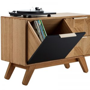 Timber record player furniture