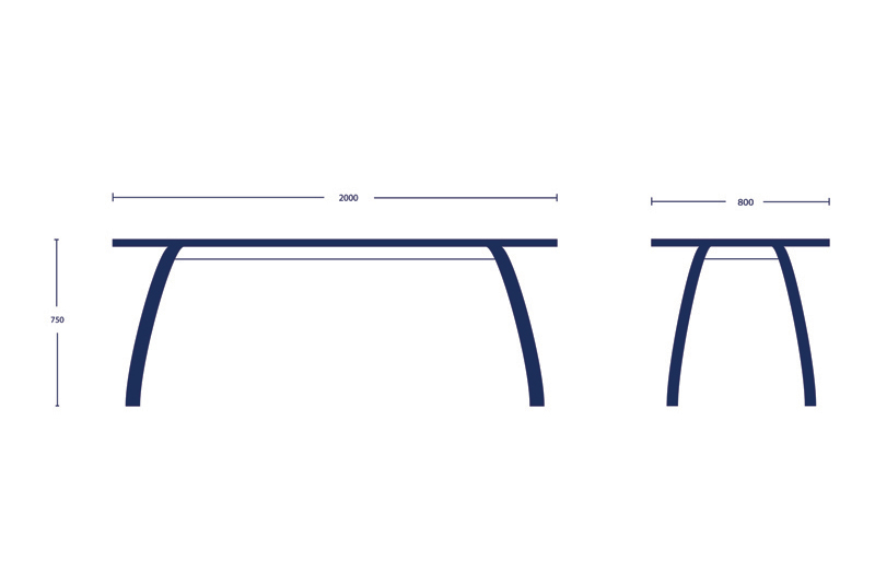 Kithe Dining Table Dimensions