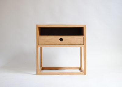 custom made oak bedside table melbourne