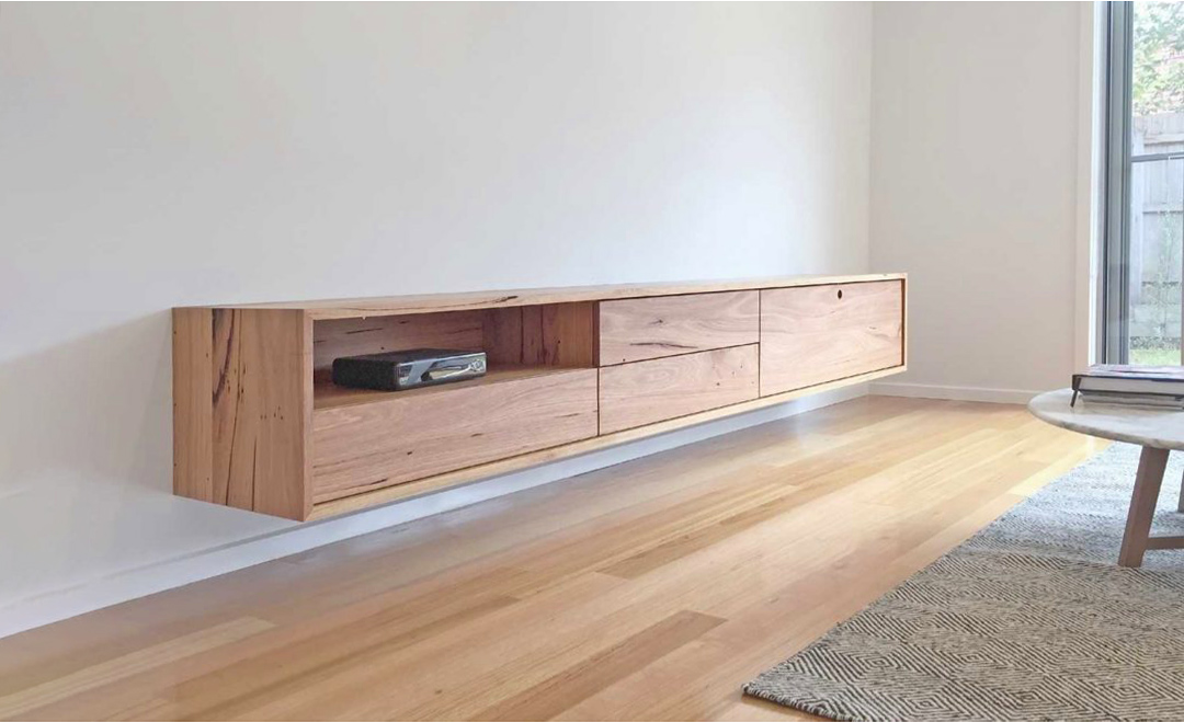 floating entertainment cabinet melbourne