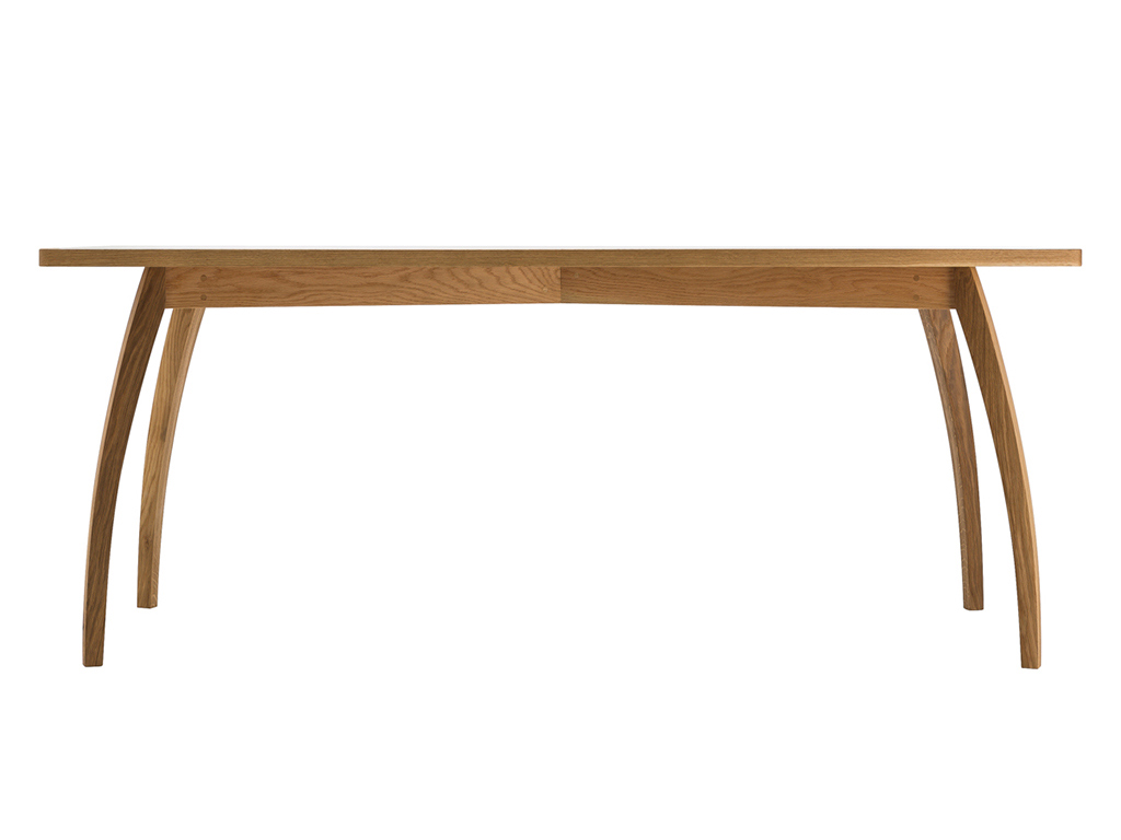 Kithe Oak Dining Table front view