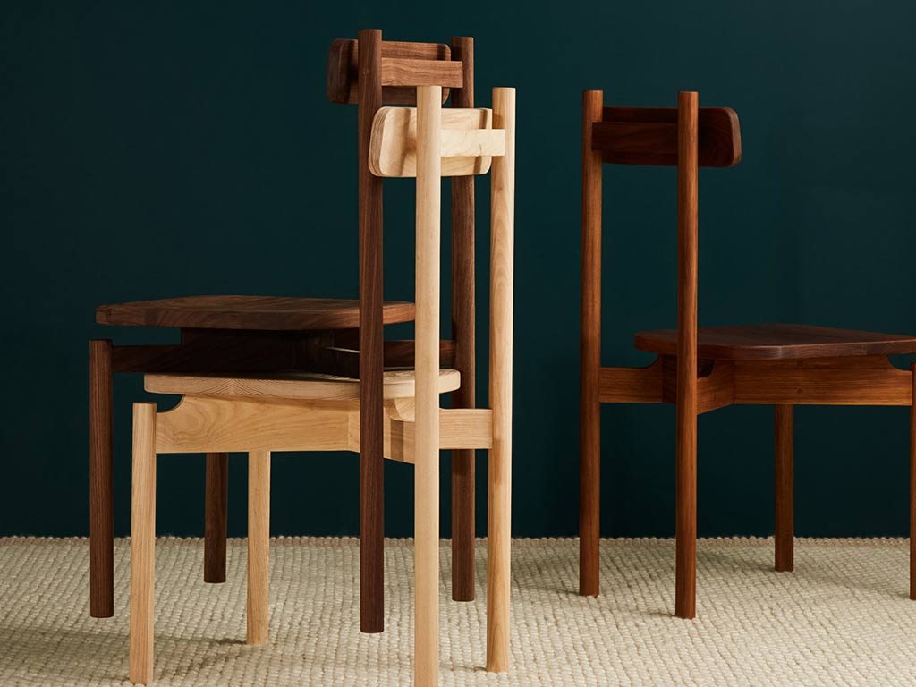 blackwood white ash walnut timber chairs melbourne