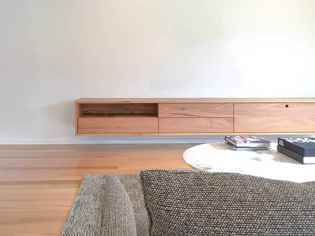 Custom-timber-floating-wall-unit-melbourne
