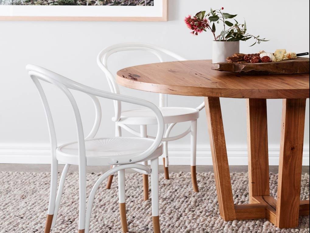 Kithe-furniture-melbourne-Highett-round-timber-dining-table